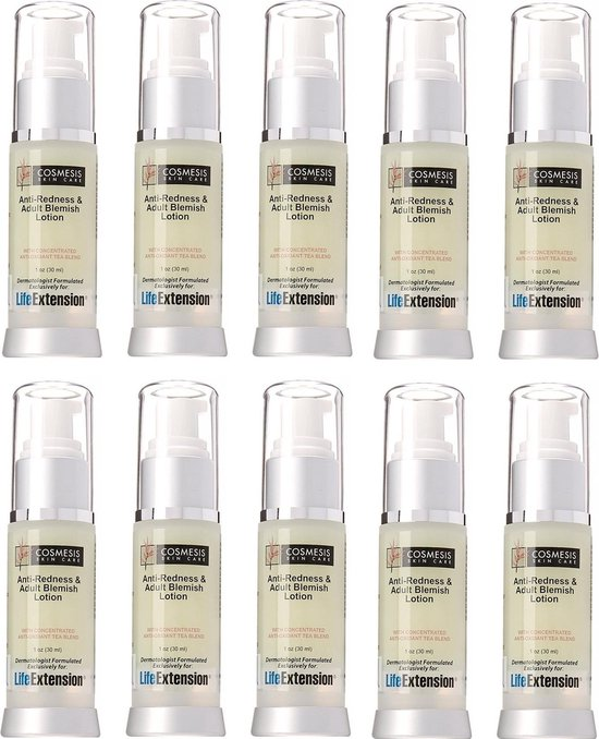 Anti-Redness and Blemish Lotion, 1 Oz., 10-pack