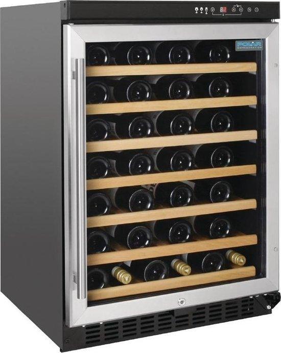 Koelkast: Polar -Wijnkoelkast - 54 Flessen, van het merk Polar