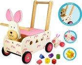 I'm Toy Loop/duwwagen Konijn - Roze