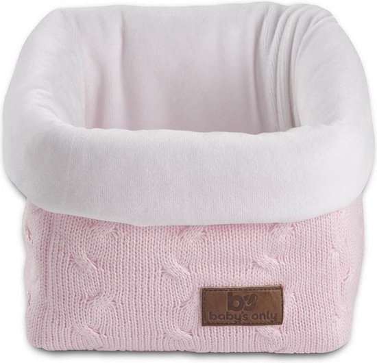 Baby's Only commodemandje kabel uni baby roze