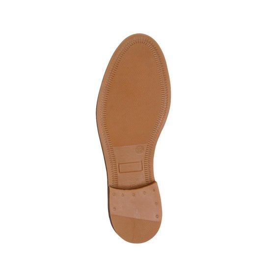 Travelin Paris - Nubuck Leren Chelsea Boots Dames Cognac Maat 41 9kyO5p