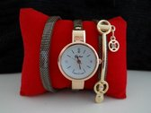 Fashionvibe.nl®   Luxe Wrapping Watch Brown