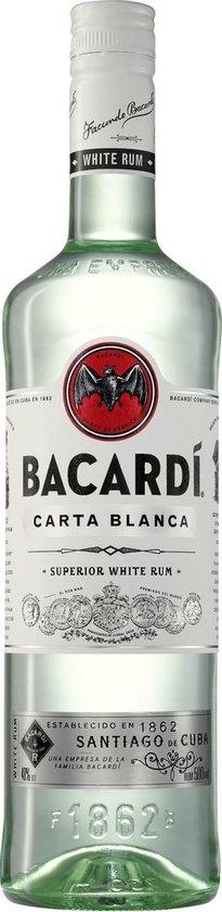 Bacardi Carta Blanca Rum- 1,5 L