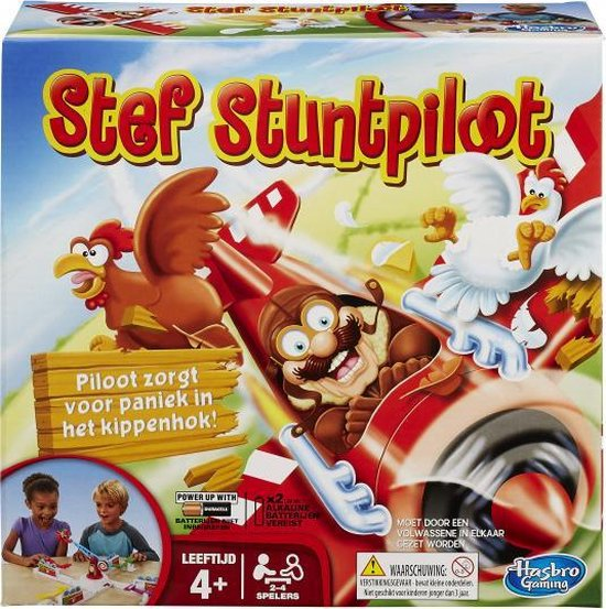 Afbeelding van het spel stef Stuntpiloot spel 27 x 10 cm karton
