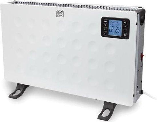 PEREL Smart heater - 2000W - verbinden met Android of iOS