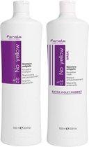 Fanola No Yellow Shampoo + Masker set -1000 ml