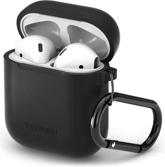 Spigen Silicone Case voor Apple AirPods - Zwart