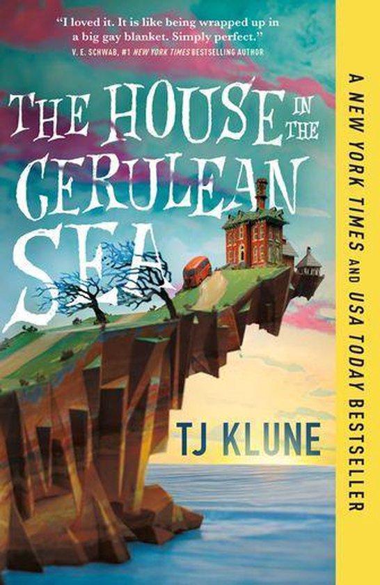 Boek cover The House in the Cerulean Sea van Tj Klune (Onbekend)