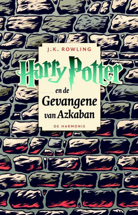 Boek cover Harry Potter 3 -   Harry Potter en de gevangene van Azkaban van J.K. Rowling (Paperback)
