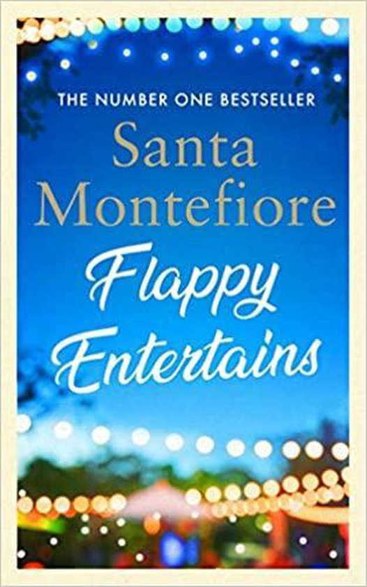 Boek cover Flappy Entertains van Santa Montefiore (Paperback)