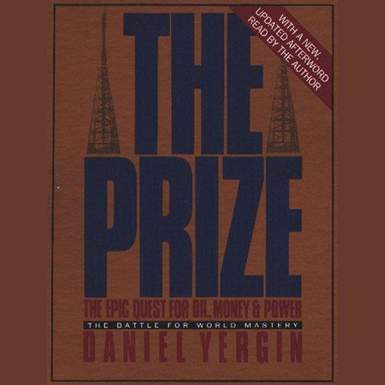 Boek cover The Prize van Daniel Yergin (Onbekend)