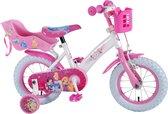 Disney Princess Kinderfiets - Meisjes - 12 inch - Roze