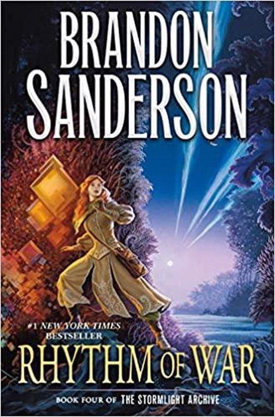 Boek cover Rhythm of War van Brandon Sanderson (Hardcover)