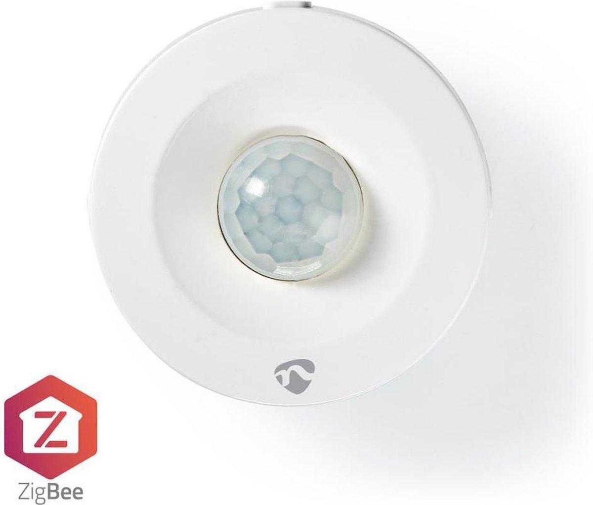 Nedis SmartLife Bewegingssensor | Zigbee | Batterij Gevoed | IP20 | Detectiehoek: 120 ° | Detectieb