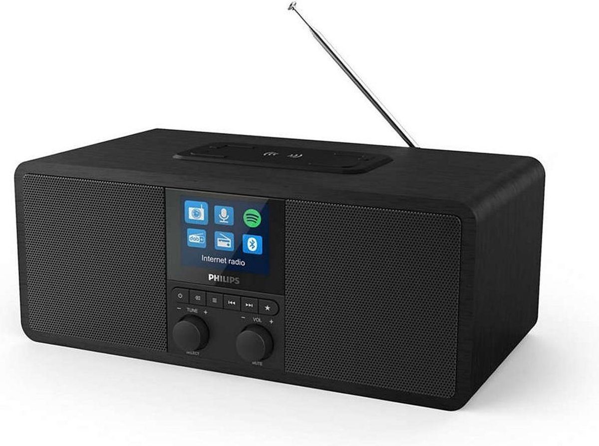 Philips TAR8805/10 - Zwart - Digitale internet radio