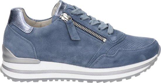 Gabor 66.528.66 Dames Sneakers - Blauw - Maat 40