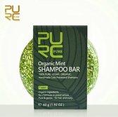 Organic Munt Shampoo Bar 60g - vegan en geen chemicalen