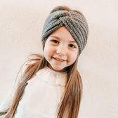 Hoofdband voor meisjes twist winter | Grijs | Meisje