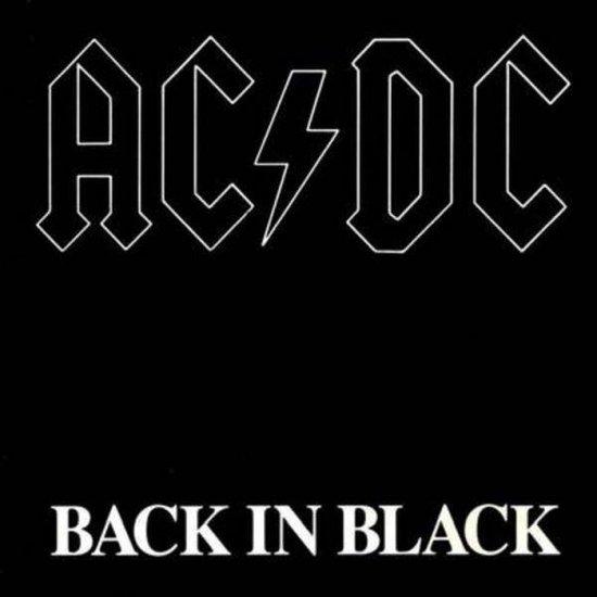 CD cover van Back in Black (LP) van AC/DC