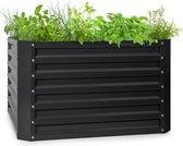 Blumfeldt High Grow Straight - verhoogde kweekbak 100 x 60 x 100cm - 600 liter - gegalvaniseerd staal - roestbescherming