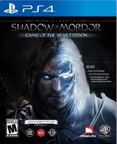 Middle Earth: Shadow Of Mordor - Game Of The Year Edition - PS4