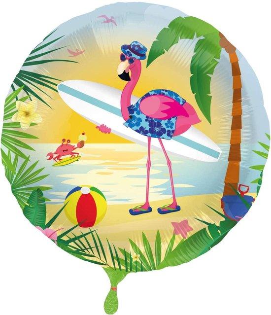 Folat Folieballon Flamingo 45 Cm