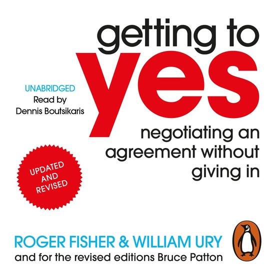 Afbeelding van Getting to Yes