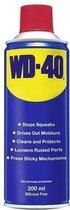 WD40 Spray. Bus met 200 ml Multispray