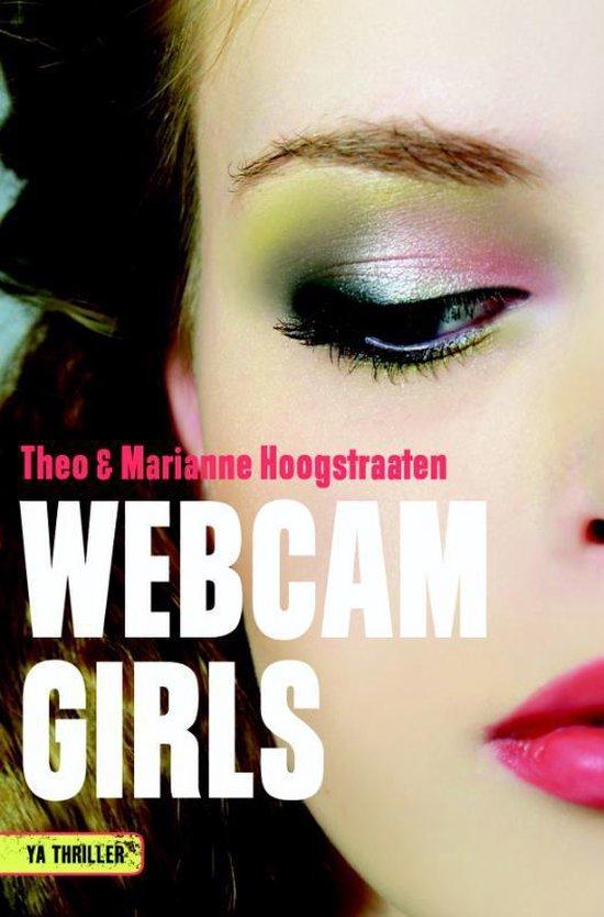 Boek cover YA Thriller  -   Webcamgirls van Theo Hoogstraaten (Hardcover)