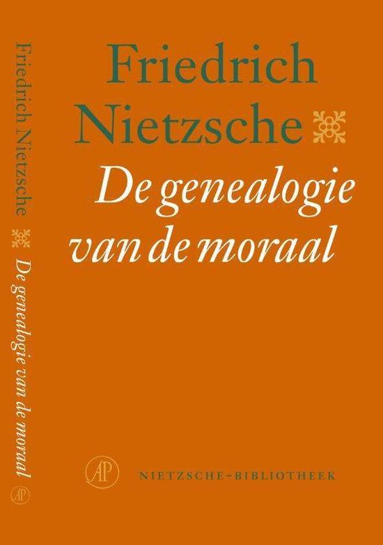 Boek cover Nietzsche-bibliotheek  -   De genealogie van de moraal van Friedrich Nietzsche (Paperback)