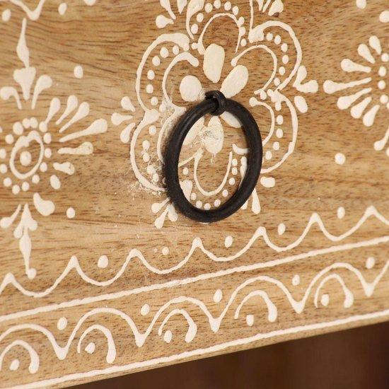 vidaXL Tv-meubel 120x30x40 cm massief mangohout  VDXL_244940 - vidaXL