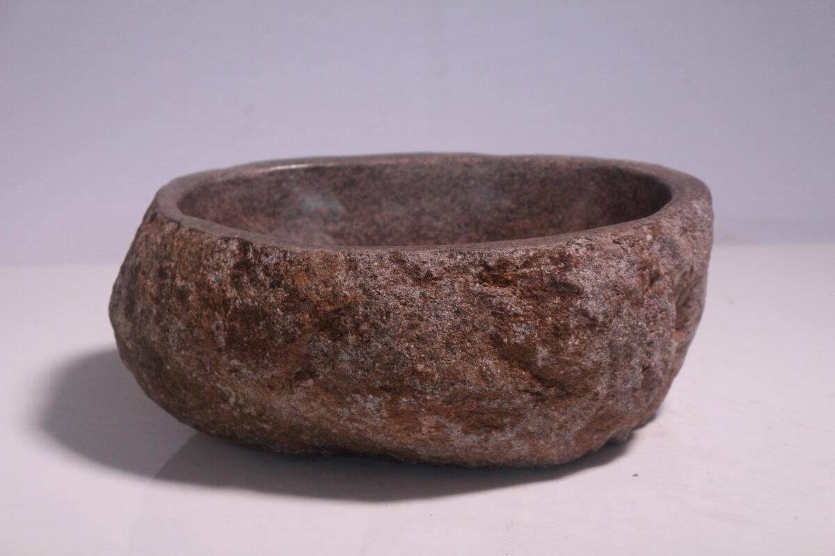 Natuurstenen waskom | DEVI-W20-078 | 28x35x15
