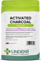 Lindens - Actieve Houtskool 400 mg - 120 capsules