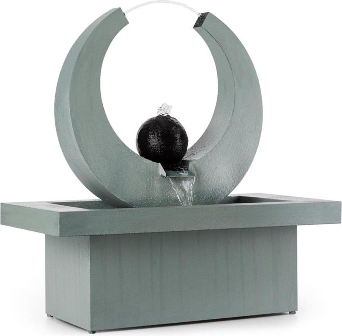 Eterma fontein In/Outdoor 12W pomp 10m kabel gegalvaniseerd
