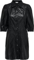 Onlrilla Puff Faux Leather Dress Pn 15213430 Black