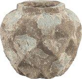 PTMD Pot L Ayda bruin 28x25x28 cm