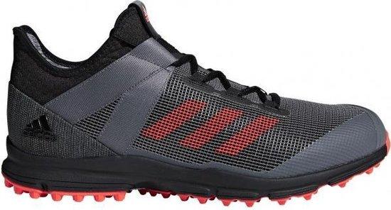 adidas Zone Dox 1.9S - Zwart / Rood - maat 44
