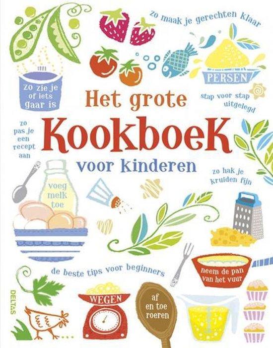 Boek cover Het grote kookboek voor kinderen van Abigail Wheatley (Hardcover)