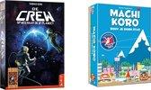 Spellenbundel - Kaartspellen - 2 Stuks - De Crew & Machi Koro Basisspel