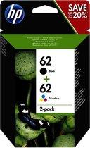 HP 62 Zw En Kl Combipack N9j71ae