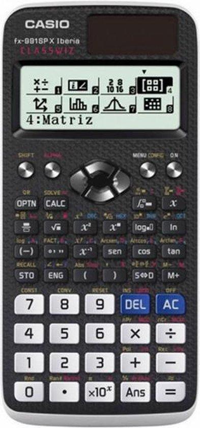 Afbeelding van Casio fx-991SP X II calculator Pocket Wetenschappelijke rekenmachine Zwart