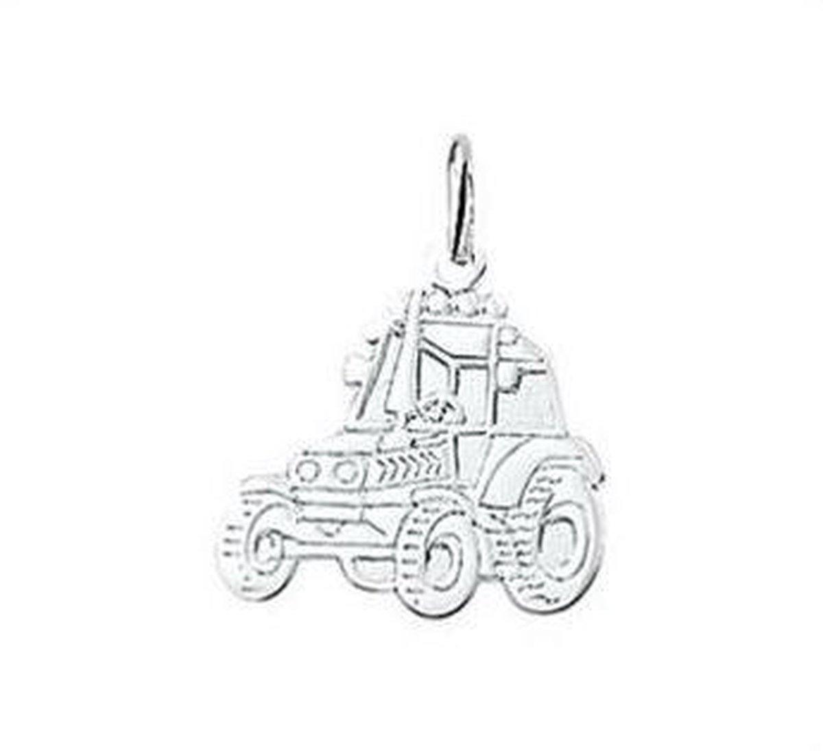 Blinx Jewels Zilveren Hanger Tractor