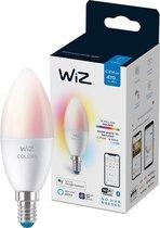 WiZ Kaarslamp Slimme LED Verlichting - Gekleurd en Wit Licht - E14 - 40W - Mat - Wi-Fi