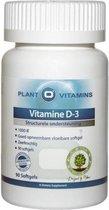 Vitamine D3 90 Softgels Plantovitamins