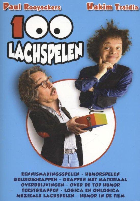 Cover van het boek '100 lachspelen' van Paul Rooyackers