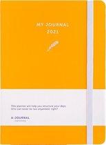 My Journal Agenda 2021 - Oranje