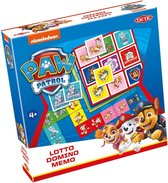 Paw Patrol 3-in-1 : Memo - Lotto - Domino