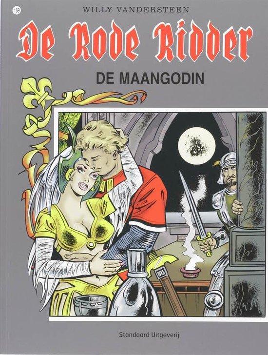 Cover van het boek 'Rode Ridder / 169 De maangodin'