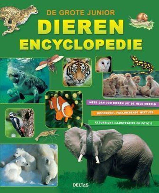 Boek cover De grote junior dierenencyclopedie van Hans Peter Thiel (Hardcover)