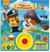 Paw Patrol - Pups En De Piratenschat - Geluidenboek met verstelbaar stuurtje!